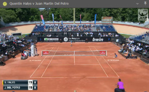 Live tennis stream screenshot
