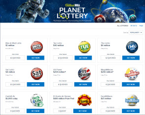 William Hill Planet Lottery screenshot