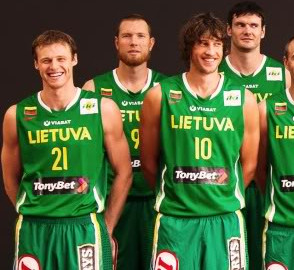 TonyBet as jersey sponsor of Lithuanian basketball